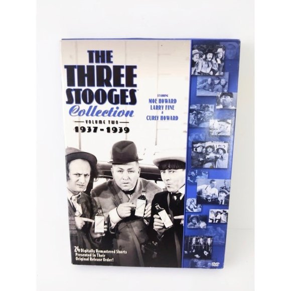 The Three Stooges Collection Volume 2 1937 - 1939